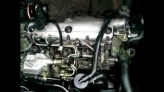 Moteur Renault Dti claque + bulles d'air dans le circuit carburant.mp4
