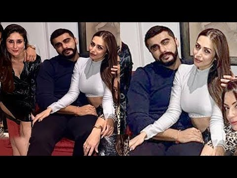Arjun Kapoor & Girlfriend Malaika Arora OPENLY show they ready for MARRIAGE @Kareena Kapoor's party