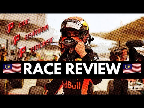F1 2017 Malaysia GP | VERSTAPPEN DENIES HAMILTON | VETTEL 4th from 20th - Pole Position Podcast