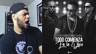 Wisin Y Yandel Daddy Yankee -Todo Comienza en la Disco Official Video  Reaccion