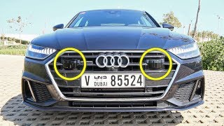 انظر كيف تعمل رادارات اودي الجديدة Audi A7
