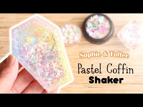 Pastel Coffin Shaker│Sophie & Toffee Subscription Box October 2018