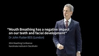 """Mouth Breathing has a negative impact on our teeth and facial development"" Dr Flutter"