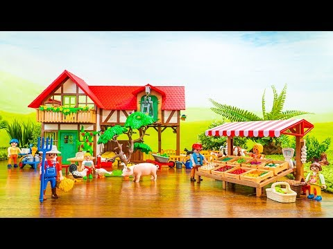 Playmobil Country Life | Taking Care of Animals and Running a Farm Stall