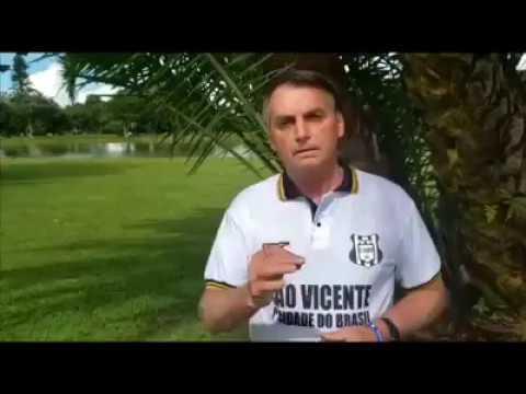 Bolsonaro anuncia em suas redes sociais a fabricação do cloroquina.