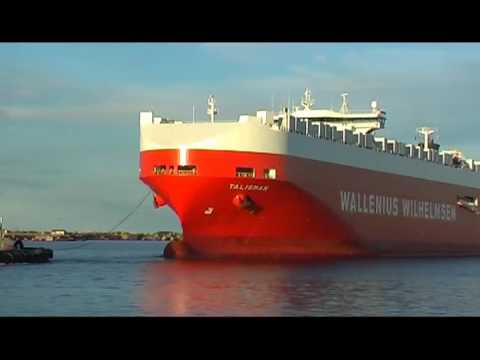 Talisman arrives at Port Kembla