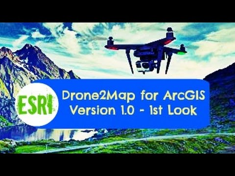 Drone2map for arcgis version 10 1st look youtube drone2map for arcgis version 10 1st look sciox Gallery