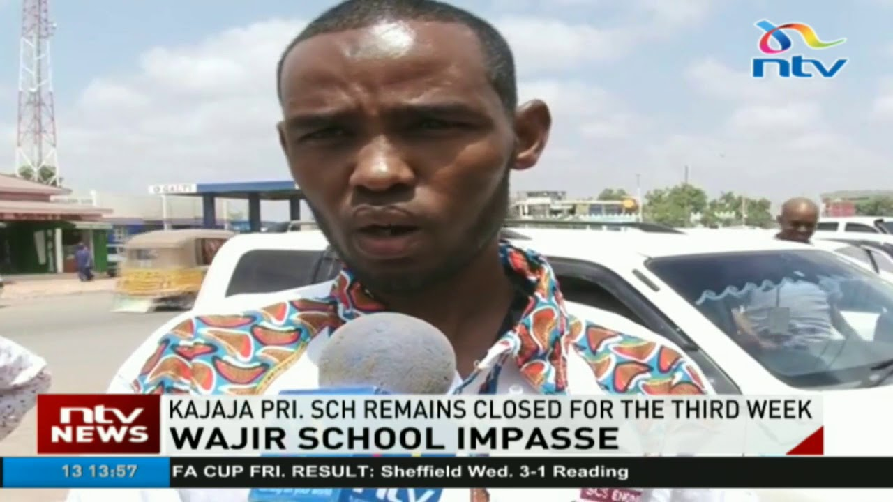TSC withdrawal of teachers in Wajir keeps pupils out of school