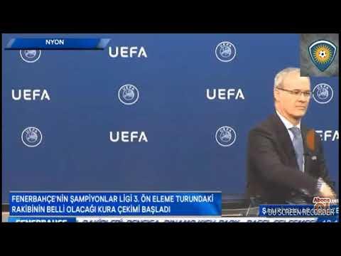 Fenerbahçe Şampiyonlar Ligi 3. Turunda Benfica Ile Eşleşti - Şampiyonlar Ligi Kura Çekimi