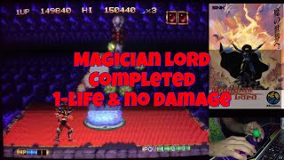 Magician Lord - Completed 1Life & No Damage ( マジシャンロード )