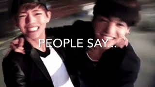 VKOOK // they dont know about us~