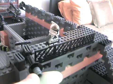 lego star wars clone base - texaslegoboy - youtube