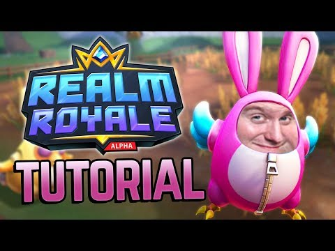 Baggins learns to play Realm Royale (Tutorial)