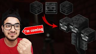 Wither Bhaiya I#39m Coming.... Minecraft