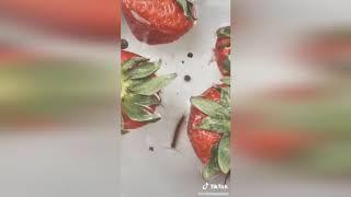 Çilekte Çıkan Böcekler - Mide Kaldırmıyor !!