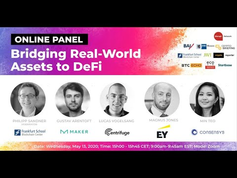 Bridging Real-World Assets to DeFi (Online Panel Discussion)