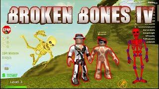 BROKE ALL MY BONES IN MY BODY - Broken Bones IV Roblox #01