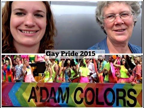 Travel - VLOG 5 - Naar de Gay Pride met mijn moeder