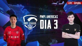 [ES] PMPL Americas Dia 3 | PUBG MOBILE Pro League 2020 - Temporada 1