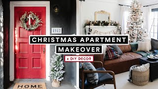 CHRISTMAS APARTMENT MAKEOVER + DIY Decorate With Me!