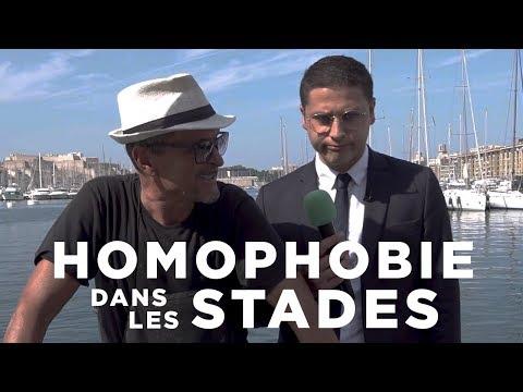 LORIS - HOMOPHOBIE DANS LES STADES - MARSEILLE