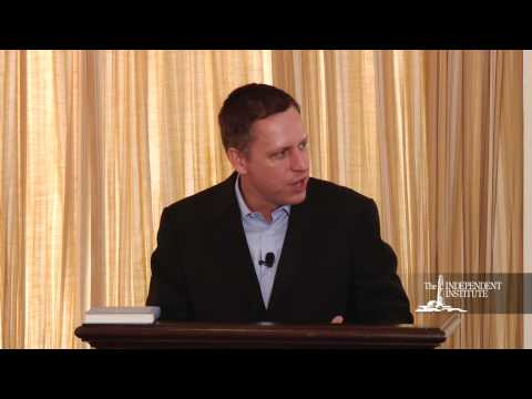 Peter Thiel 2015 – Developing the Developed World Entrepreneurship –  Liberty –  and the Future