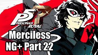 PERSONA 5 ROYAL Merciless Mode NG+ Playthrough Part 22 - Okumura's Palace [PS4 PRO]