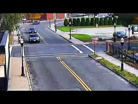 2-vehicle crash at Cabot and School streets in Chicopee causes rollover (video)