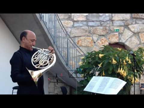 Waldhorn, Jubilee Concert 35 years Engelbert Schmid Horns, short excerpts