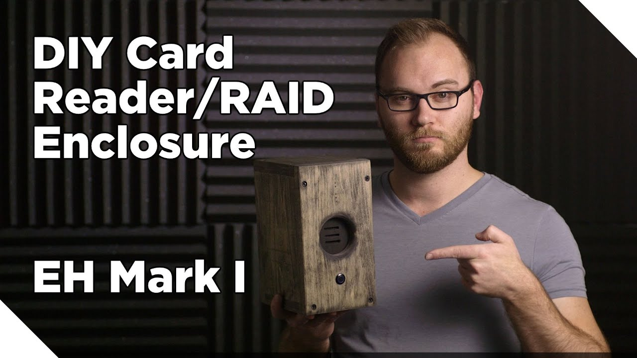 DIY Card Reader/Hard Drive RAID Enclosure - YouTube