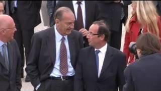 Chirac affirme qu'il votera Hollande en 2012