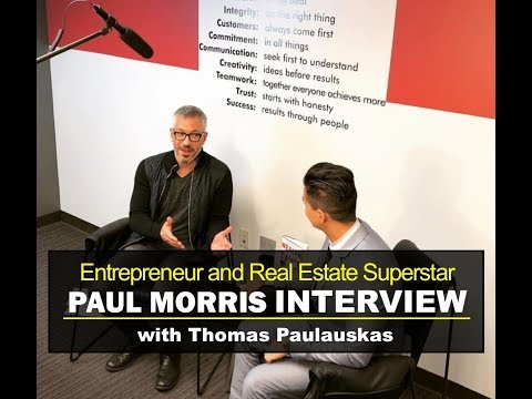 Multi Millionaire Investor, Realtor and Author of Wealth Cant Wait Paul Morris