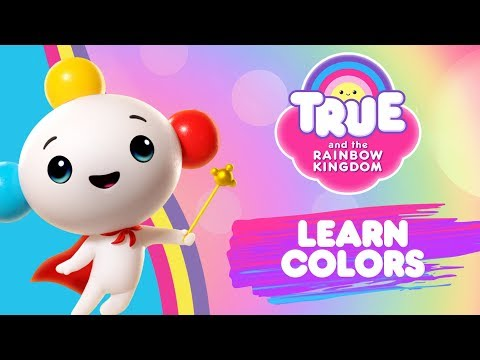 Learn Colors with the Rainbow King | True and the Rainbow Kingdom