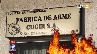 EXPLOZIE LA FABRICA DE ARME, CUGIR