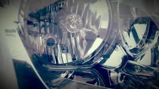 Аутлендер: фары до тюнинга