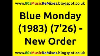 Blue Monday - New Order | 80s Dance Music | 80s Club Music | 80s Pop Classics | 80s Club Anthems