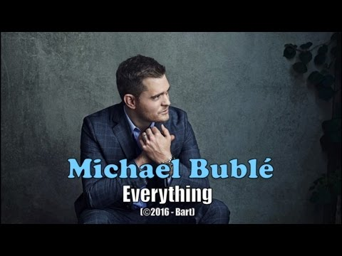 Michael Bublé - Everything (Karaoke)