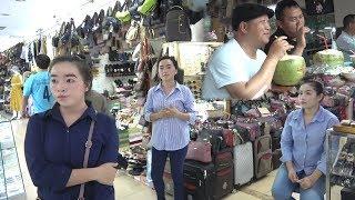 Travel in Laos - Vientiane, Laos Markets 2019
