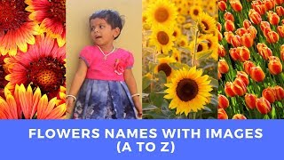 Flowers Names in Alphabetical Order For Children in English