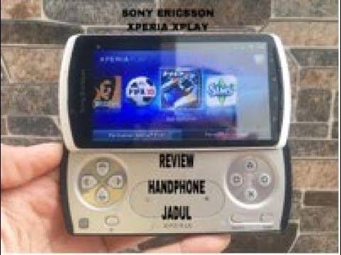 Review Handphone Jadul Sony Ericsson Xperia Xplay R800i Hp Klasik Langka Antik Games Nostalgia