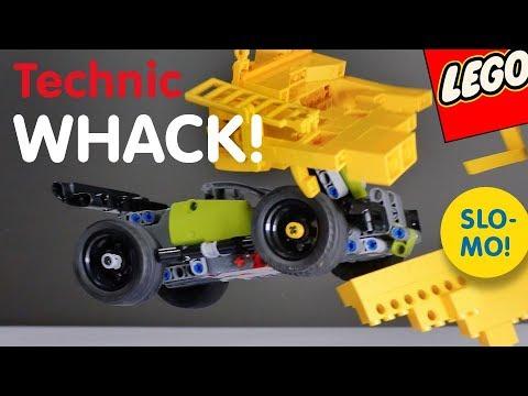 lego technic whack build and crash youtube. Black Bedroom Furniture Sets. Home Design Ideas