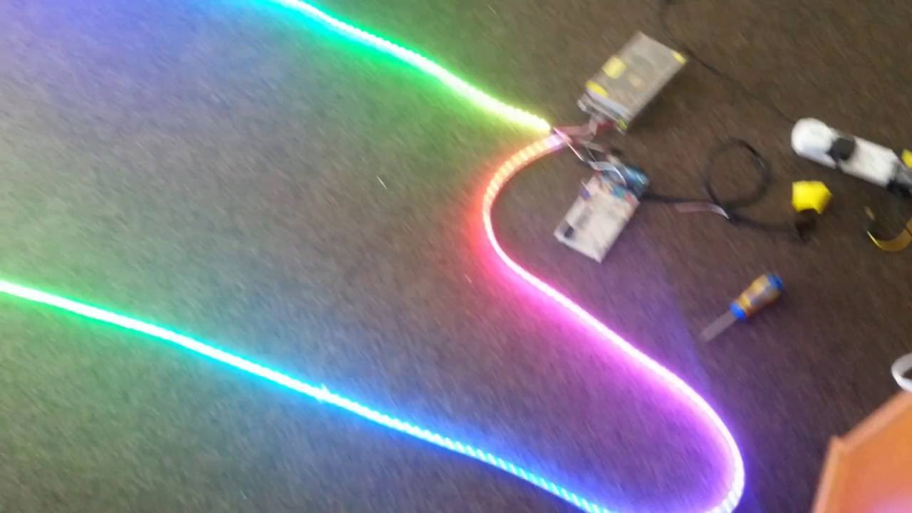 10m of 600 LEDs (ws2812b)
