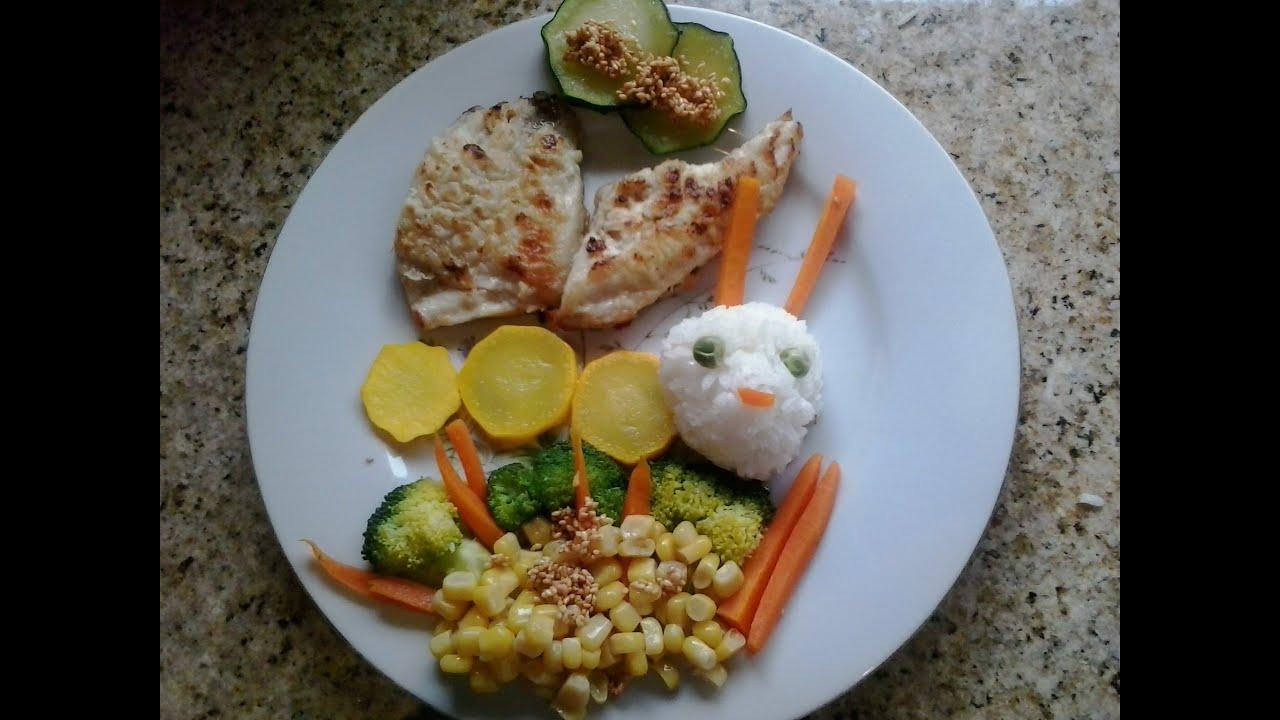 Almuerzo para ni os divertido y saludable mariposa for Comidas rapidas para ninos