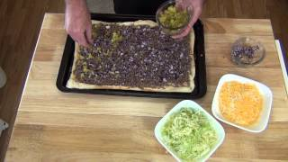 How To Make A Big Mac Pizza!!!!!! Easy With That Classic Taste!!!