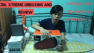 JBL Xtreme Unboxing and Review