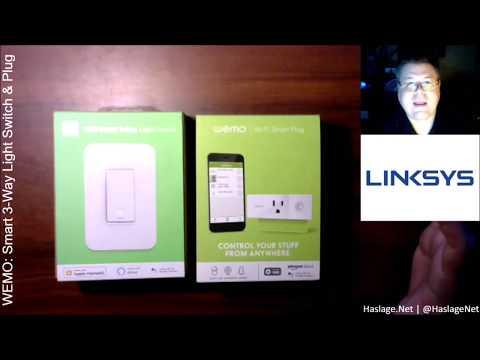 WEMO: Smart 3-Way Light Switch & Plug Review | HaslageNet