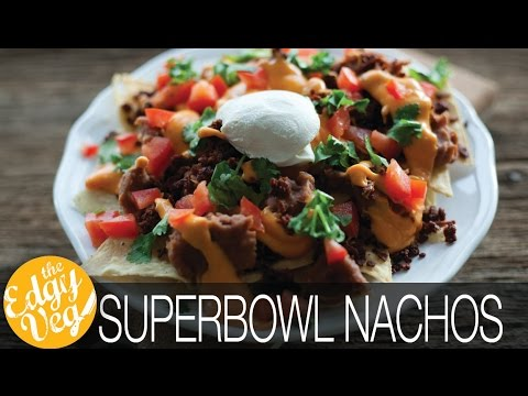 Vegan Nachos Recipe | The Edgy Veg
