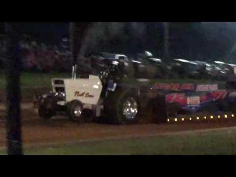 "Ryan Hoyt ""Nut Case"" pro stock tractor pull at Lebanon"