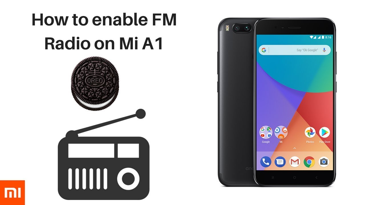 How to Enable Fm Radio on Mi A1