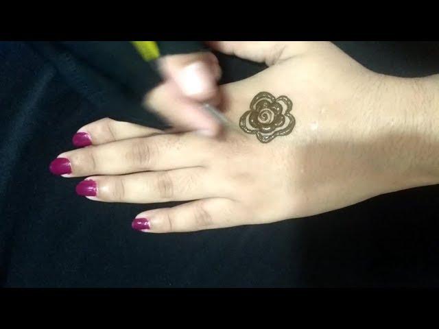 Stunning and beautiful mehndi design for backhand  easy mehndi designs for beginner  